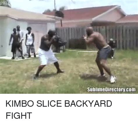backyard fights kimbo kimbo backyard fights sublime directorycom kimbo slice