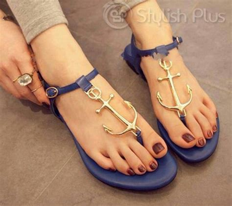 anchor sandals anchor shoes my style