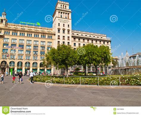 bank spanien national bank spanien in barcelona redaktionelles