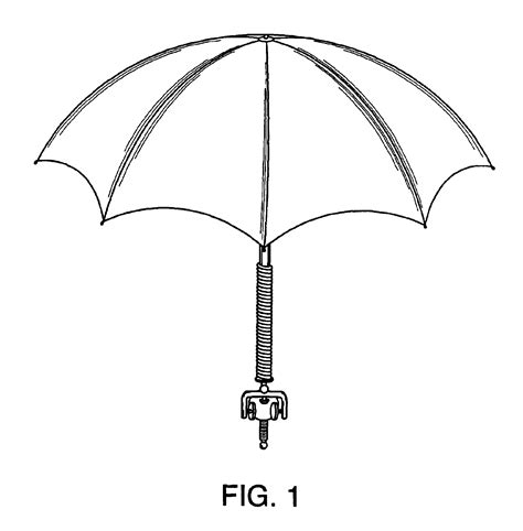 google images umbrella patent usd496782 umbrella with bendable staff and grip