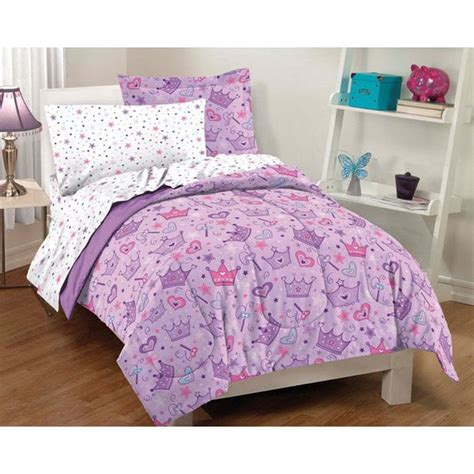twin bed in a bag sets stars and crowns twin size 5 piece bed in a bag with sheet