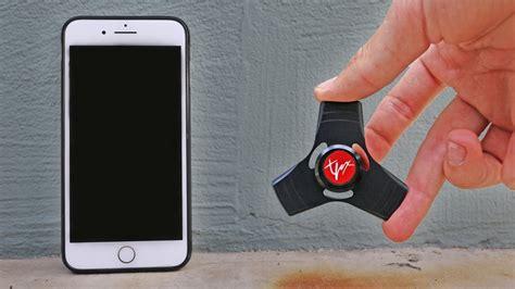 Fidget Spinner For Iphone 7 Hitam 1000mph fidget spinner vs iphone