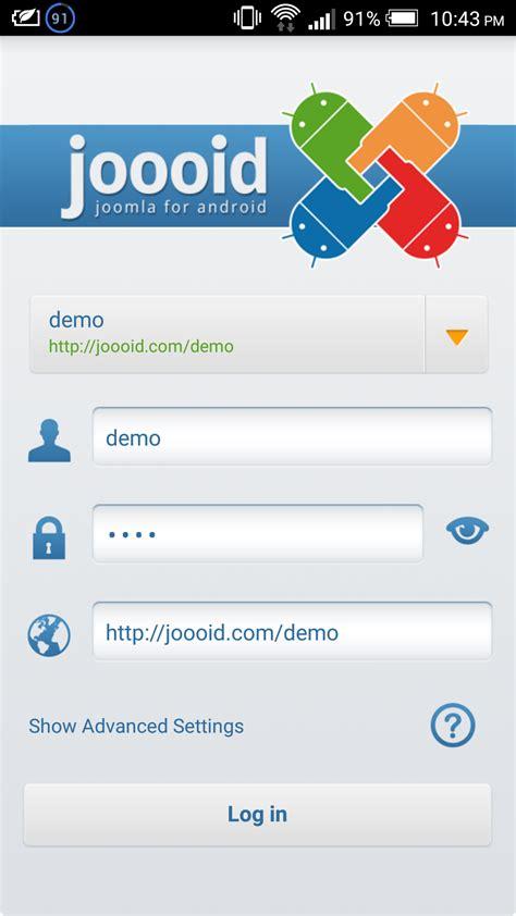 mobile cms mobile cms screenshots of joomla cms joooid on htc one