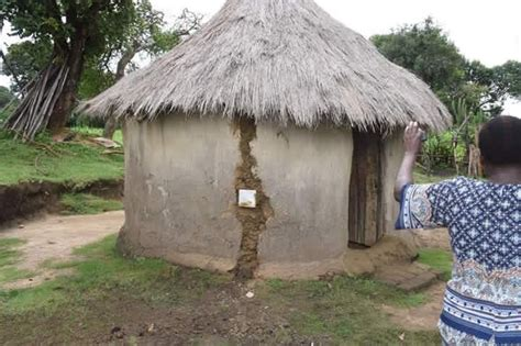 grass thatched house plans did ruto launch some electricity connection in a grass thatched house fichuzi