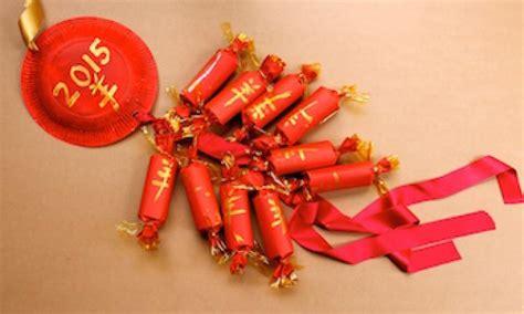 make new year firecrackers make a firecracker garland kidspot