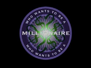 Who Wants To Be A Millionaire Just Graphics Power Point Template Who Wants To Be A Millionaire Powerpoint Template With
