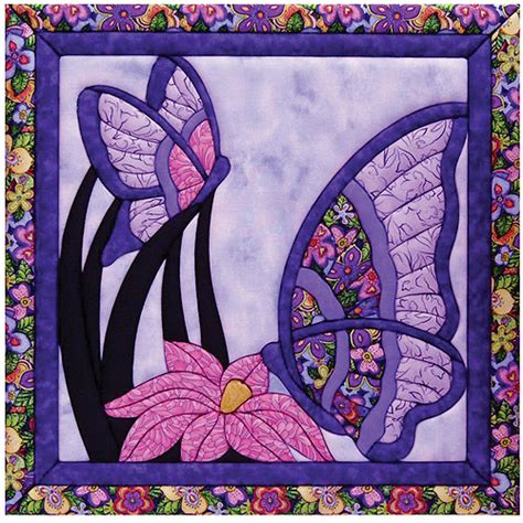 butterfly quilt magic kit 15 1 2 quot x15 1 2 quot walmart