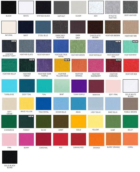 canvas color canvas unisex jersey 3001c bandwear