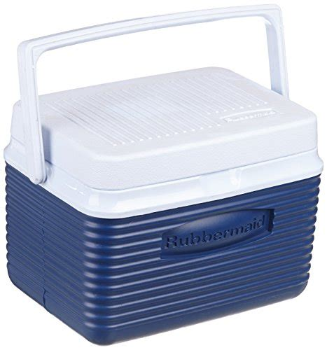 Blue Rubbermaid Small rubbermaid cooler chest 5 quart blue buy