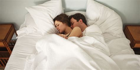 cuddling in bed how to improve your sex life try a post coital cuddle