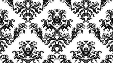 black and white elegant pattern elegant damask seamless vector pattern welovesolo