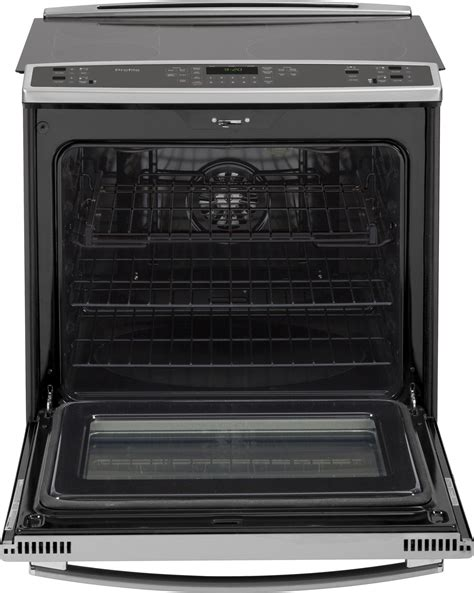 Electric Range With Warming Drawer by Ps920sfss Ge Profile 30 Quot Slide In Electric Convection