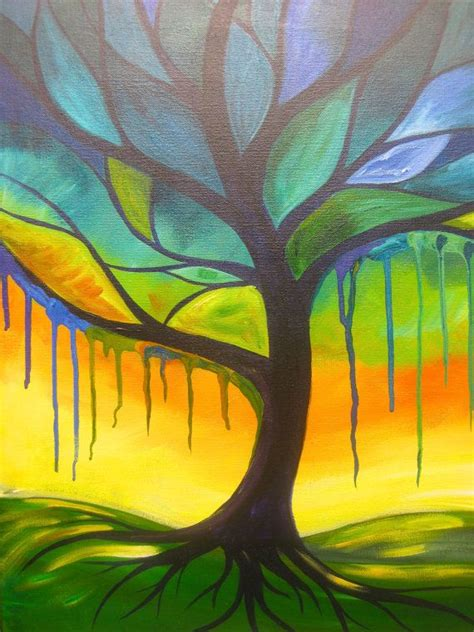 paint with a twist green 50 best images about tree with a twist on