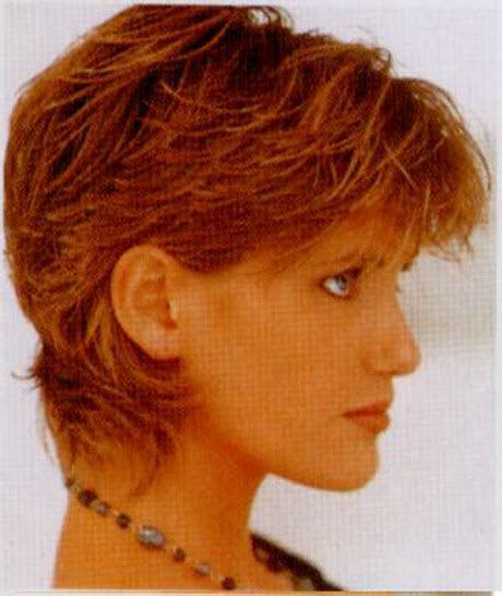 short hair ut feathered off face short feathered hairstyles for women