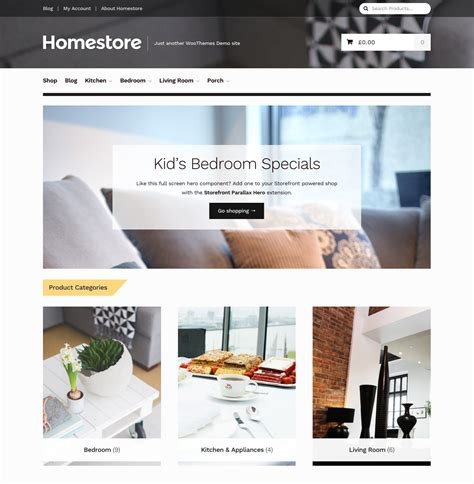 themes storefront homestore storefront child theme woocommerce docs