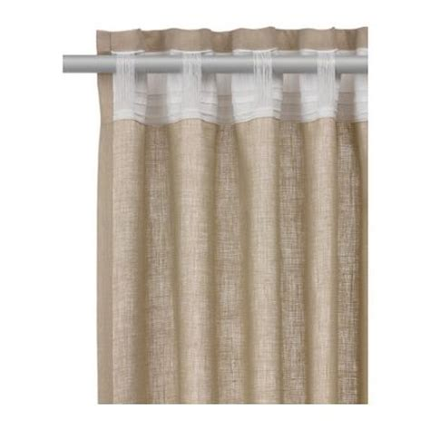 curtain backing brand new ikea vivan curtains 57 quot x 98 quot window drapes 2