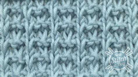 how to up stitches in knitting the whelk stitch knitting stitch 78