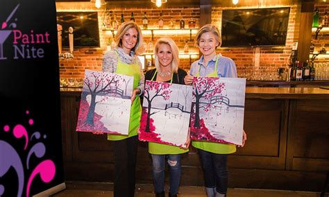 paint nite groupon los angeles 5 things 50 to do in los angeles this weekend