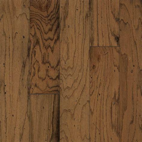 Distressed Engineered Wood Flooring Bruce Take Home Sle Distressed Oak Gunstock Engineered Hardwood Flooring 5 In X 7 In Br