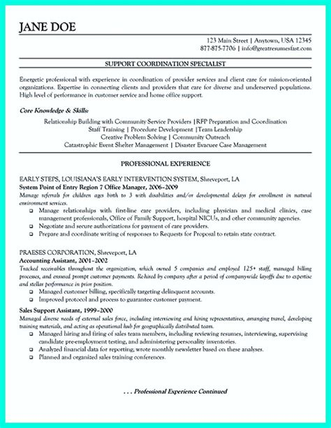 inspiring case manager resume to be successful in gaining
