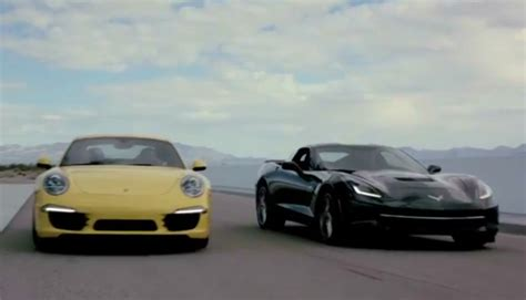 corvette stingray vs porsche 911 cs chris harris review