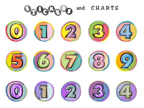 printable number stickers stickers with numbers kamos sticker