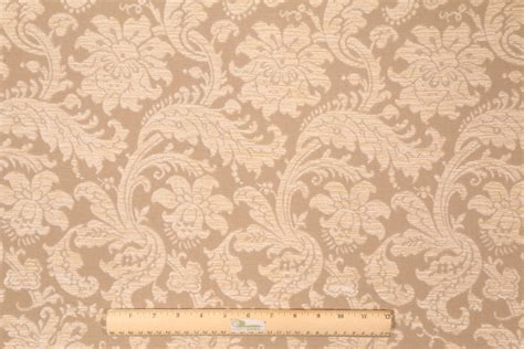 Damask Fabric For Upholstery by 1 1 Yard Robert Allen Beacon Hill Manina Chenille Damask