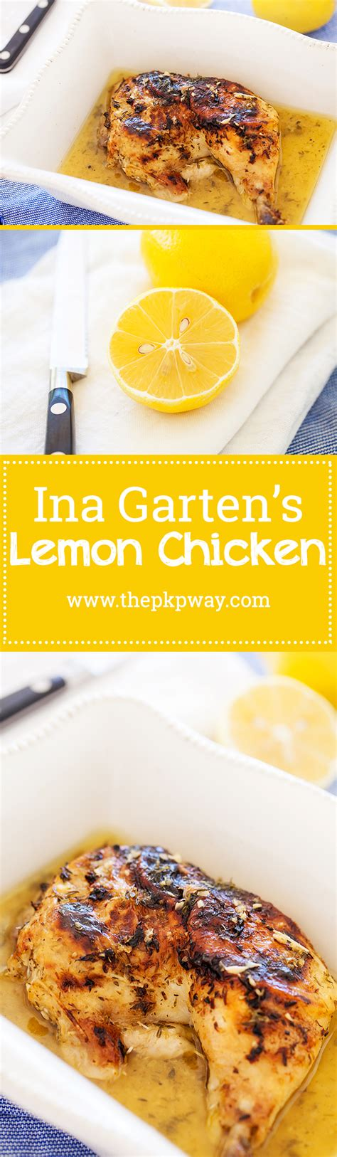 ina garten s lemon chicken the pkp way ina garten s lemon chicken the pkp way