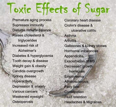 Effects Of Sugar Detox by 187 Does Sugar And Wellness Go Together