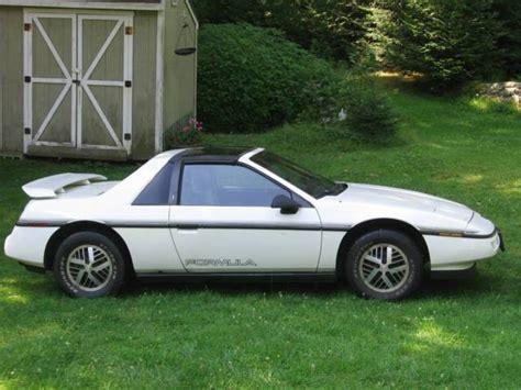 1988 Pontiac Fiero Formula For Sale by 1988 Pontiac Fiero Formula T Top Edition Powerful
