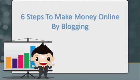 Steps To Make Money Online - 6 steps to make money online by blogging peter chin marketing