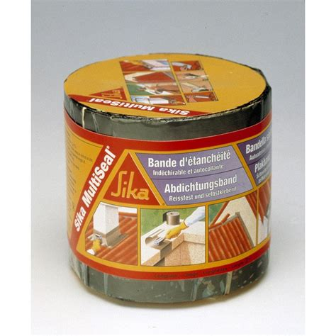Bande Etancheite Toiture 2788 by Bande Adh 233 Sive D 233 Tanch 233 It 233 Sika Multiseal L 3 X L 0 1 M