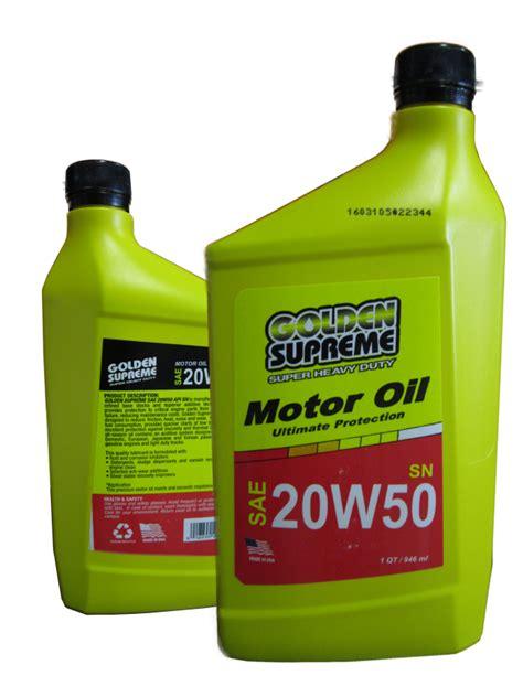 artemia golden supreme plus 50 golden supreme motor sae 20w50 1l 946 ml