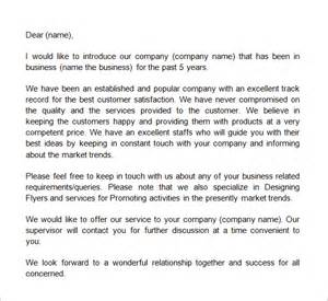 Business Introduction Letter By Email 5 Introduction Email To Client Templates Word Excel Pdf