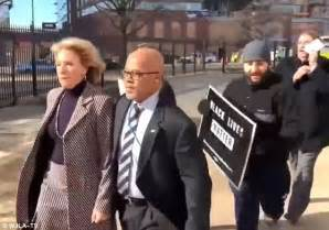 betsy devos security betsy devos becomes first to receive us marshal services