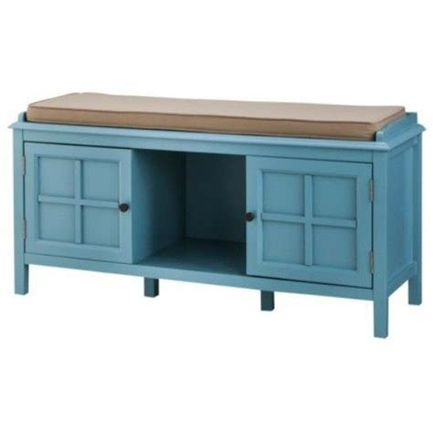 entry bench cushion entryway bedroom bench teal cushion seat hardwood shoe