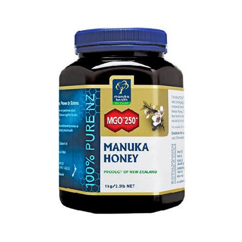 Mgo Gift Card - manuka health 100 pure manuka honey mgo 250 plus 1kg new zealand manuka honey ebay