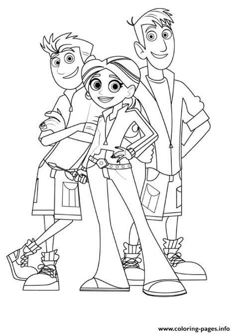 kratts coloring page kratts coloring pages coloring pages printable