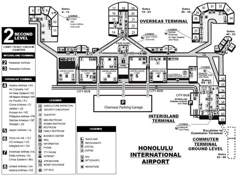 honolulu airport map honolulu airport gate map related keywords honolulu airport gate map keywords