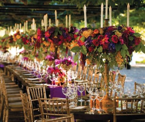 fall table decorations for wedding receptions entertaining boston style fall into planning an autumn