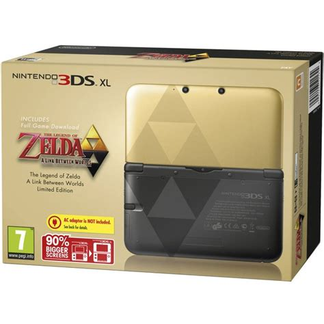 Special Edition Hori Casing New 3ds Xl nintendo 3ds xl the legend of a link between worlds limited edition nintendo uk store