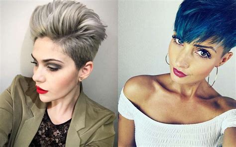 short hairstyles  fine hair fashion  women