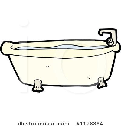 bathtub illustration dog in bathtub clipart
