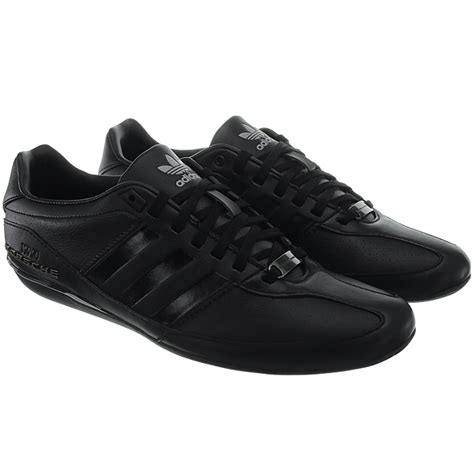 Porsche Typ 64 by Adidas Porsche Typ 64 S Low Top Sneakers Black Or
