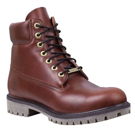timberland style boots timberland s 6 quot premium waterproof burgundy leather