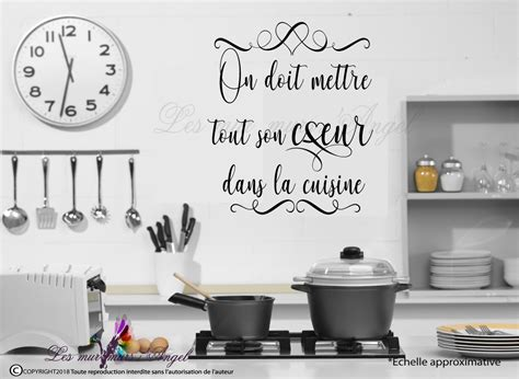 stickers citation cuisine sticker cuisine citation lesmurmursdangel fr