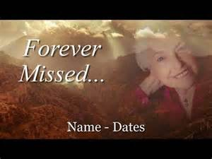 free slideshow template memorial template complete slideshow presentation for