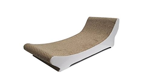 cat chaise lounge clean kitty chaise lounge corrugated cat scratcher with