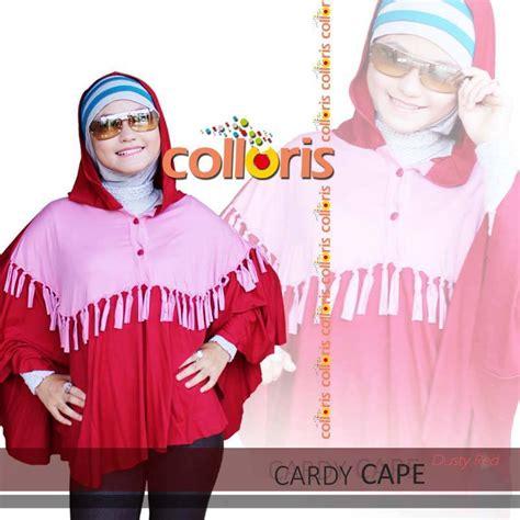 Cape Dress Nagita Kode 02 busana muslim koleksi terbaru