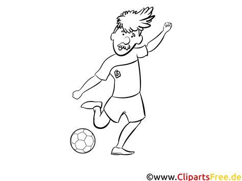 fussball spieler bild zum ausdrucken und ausmalen